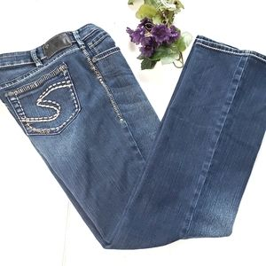 Silver Aiko Bootcut Jeans 31/31